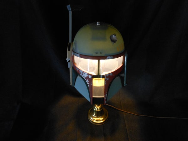 Star Wars Boba Fett Lamp