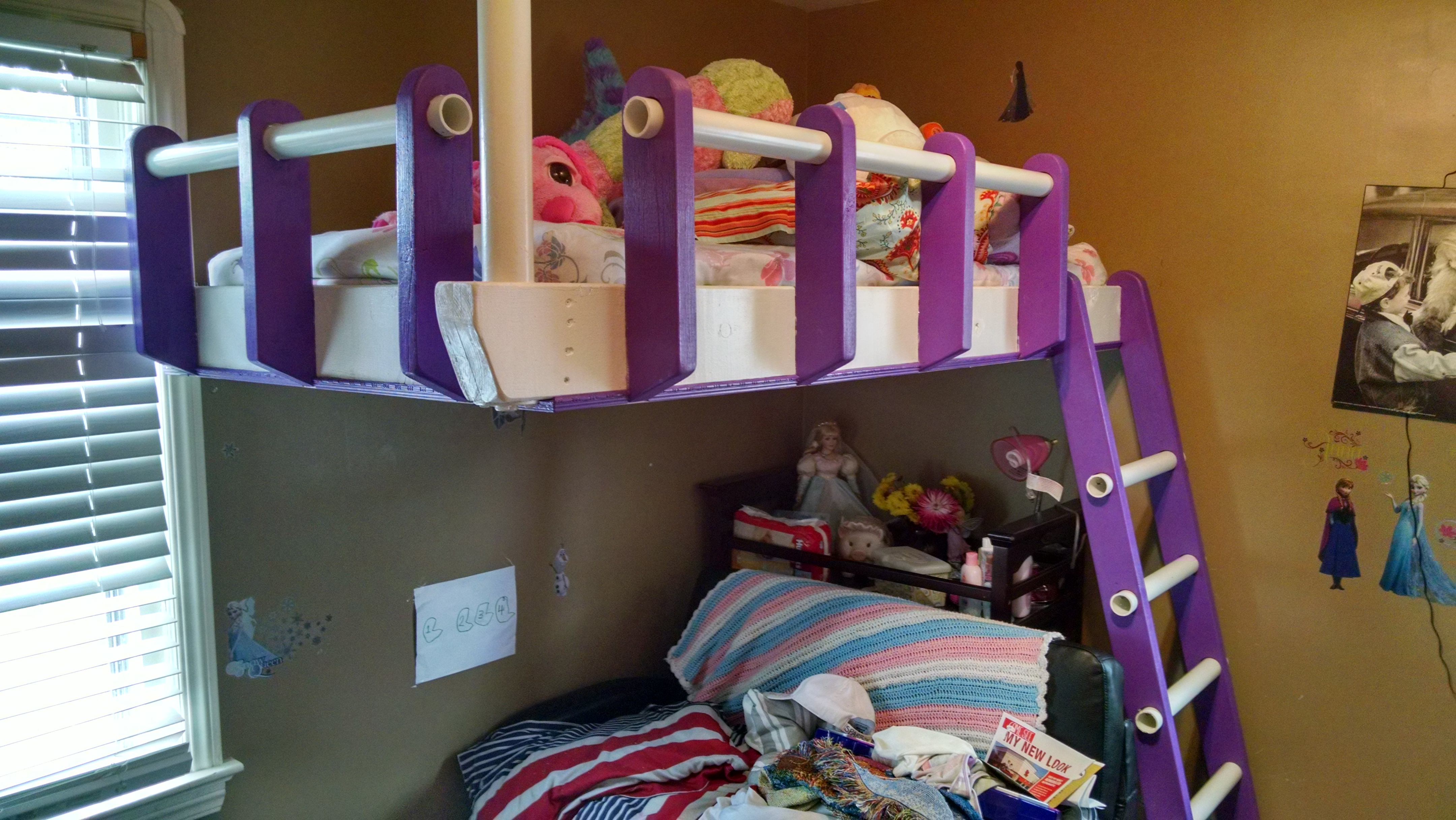 Floating Loft Bed 11 Steps With Pictures Instructables