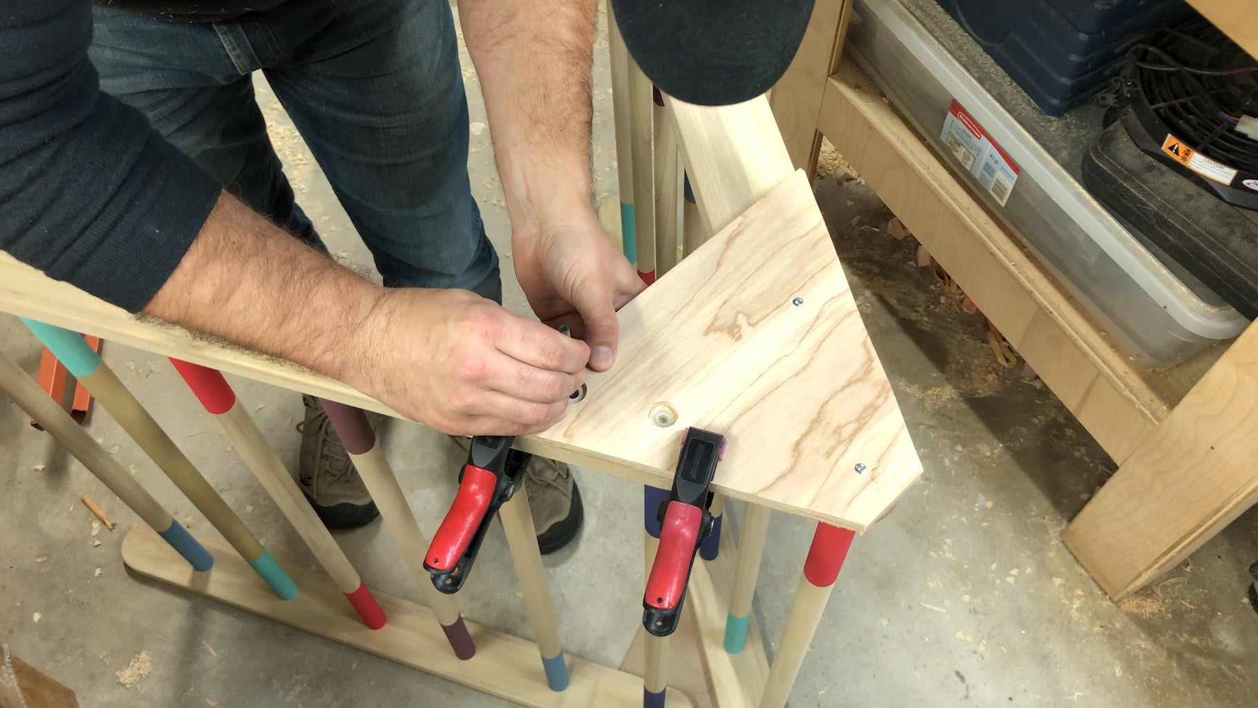 Gluing Up the Ladders!