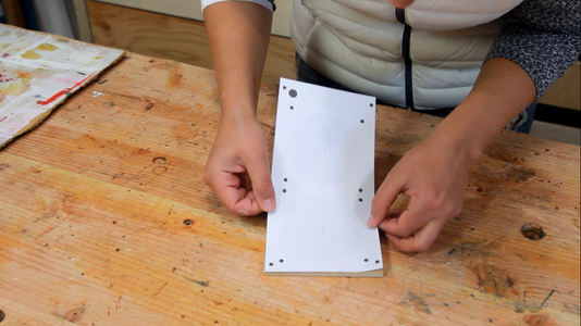Cutting Up the Box - Saw & Drill
