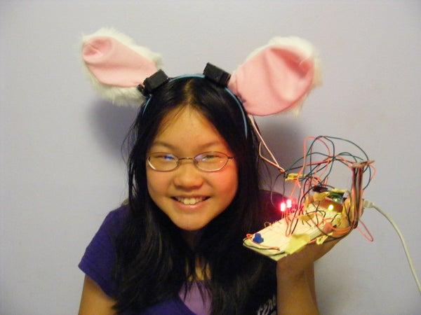 Necomimi Arduino Cat Ears