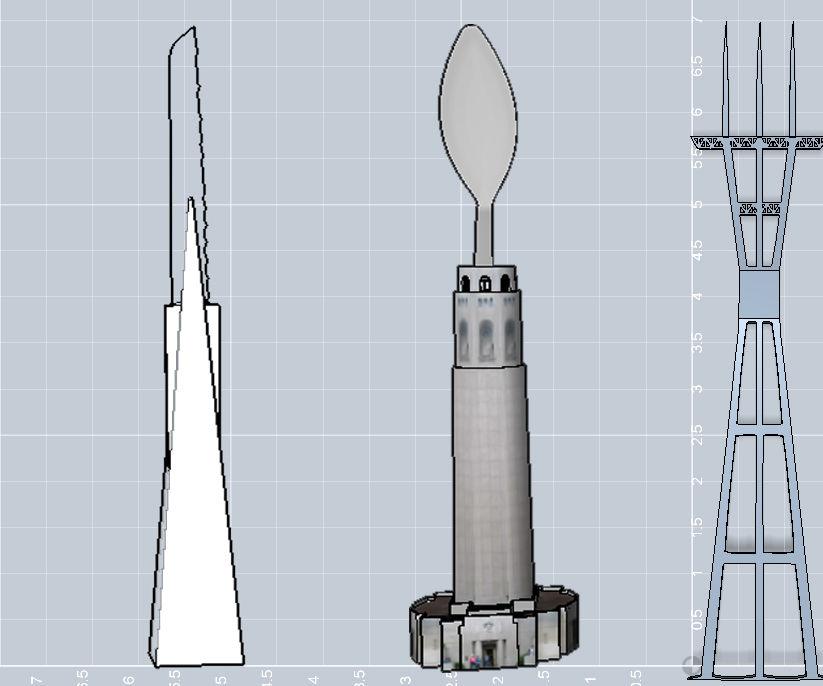 San Francisco Architectural Silverware