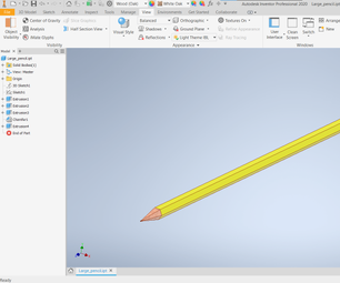 Super-sized Pencil 3D
