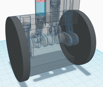 Add the Sides to the Engine Block