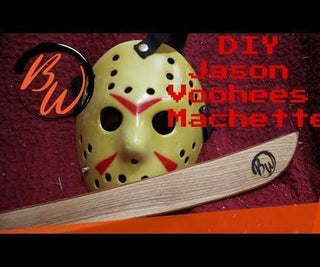 How to Make Your Very Own Jason Voorhees Machete From Friday 13th Franchise