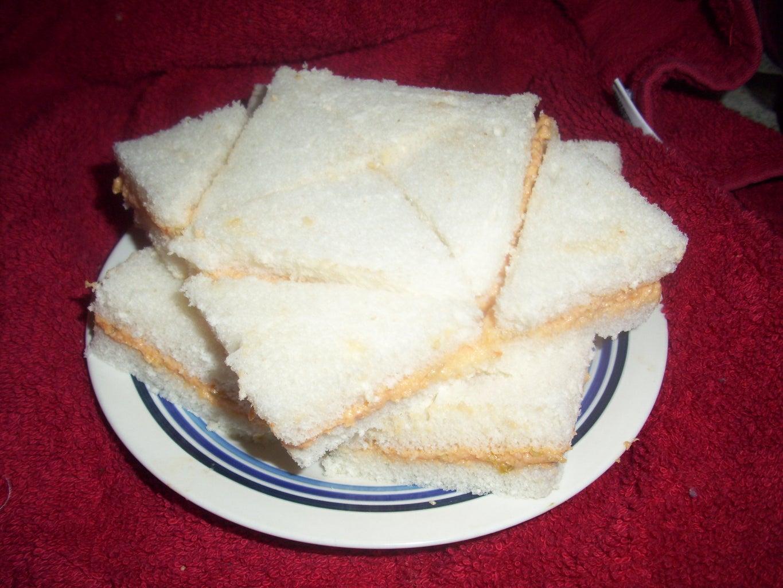 Fancy Spam Appetizer Sandwiches