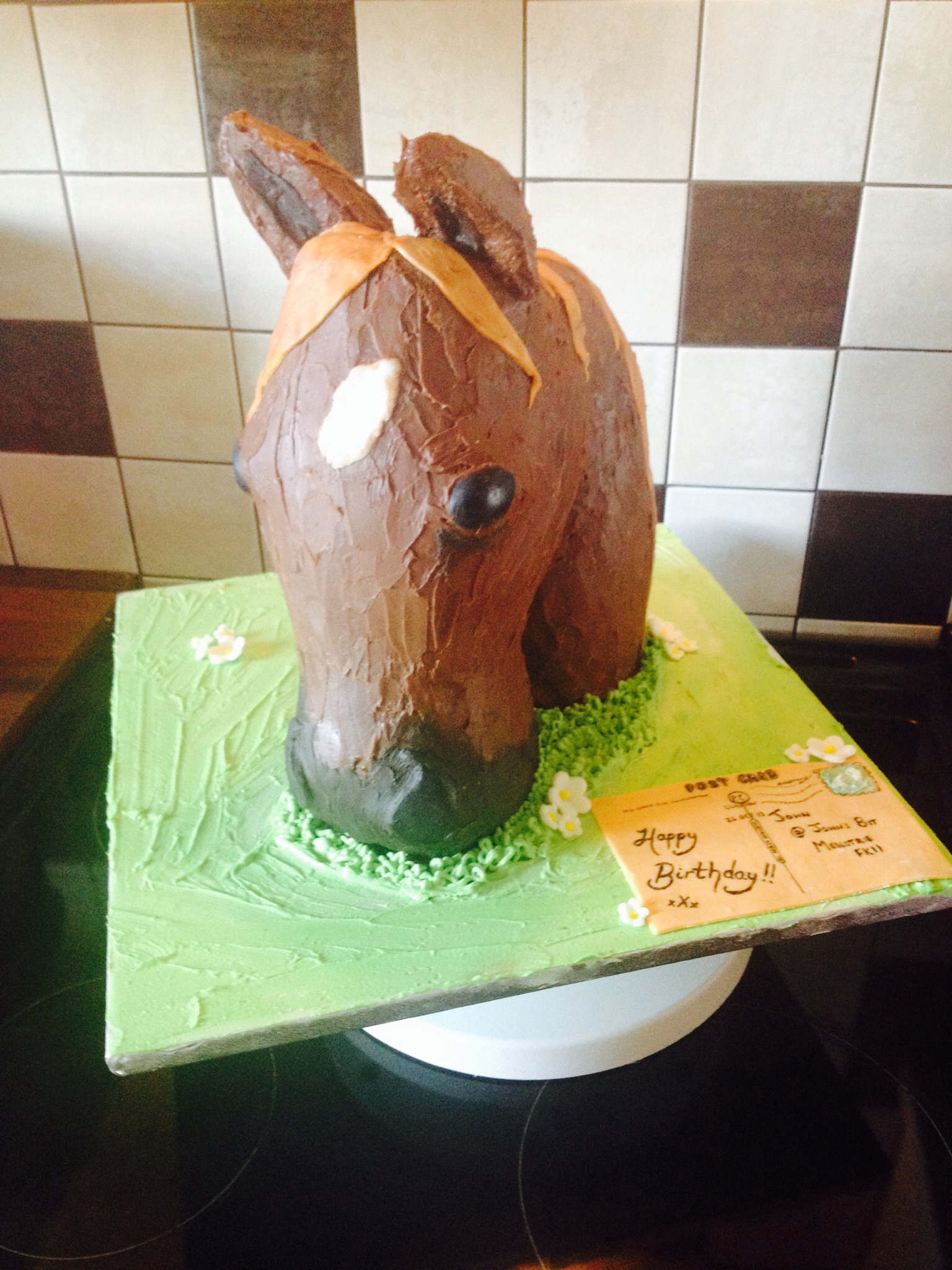 Horse Cake 4 Steps With Pictures Instructables