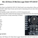 Using the Wifi D1 Mini - Real-time Clock and Logger