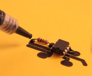 Printing Circuits With Conductive Paint