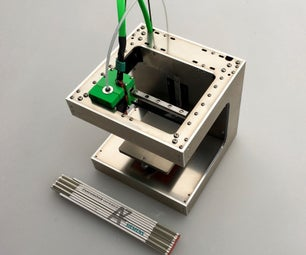 DICE - a Tiny, Rigid and Superfast 3D-printer