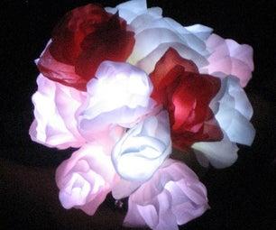 Assemble Your Own LED Rose Bouquet