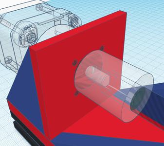 Design Process - Stepper Motor Mount - Motor Mounting Holes