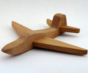 How to Make a Wooden Toy Airplane