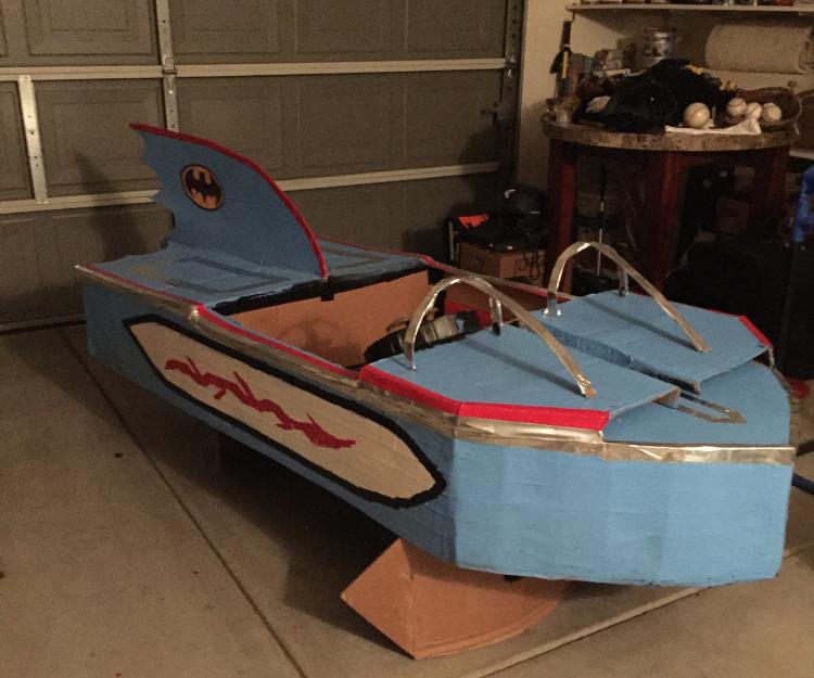 How to Create an Adam West Bat Boat
