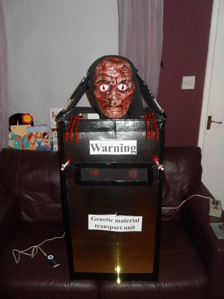 Halloween Robotic Backpack