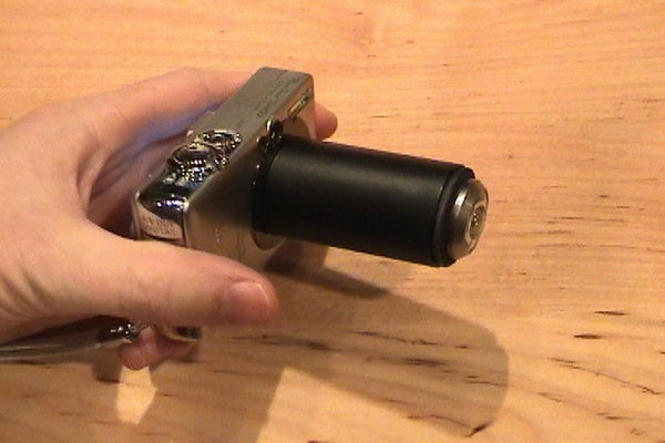 Wide-Angle and Fish-Eye Camera Lens Adaptor