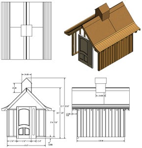Preliminary Development of Whimsical Garden Shed (Shed)