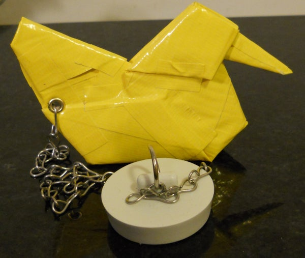Duct Duck (Duct Tape Duck Tub Stopper)