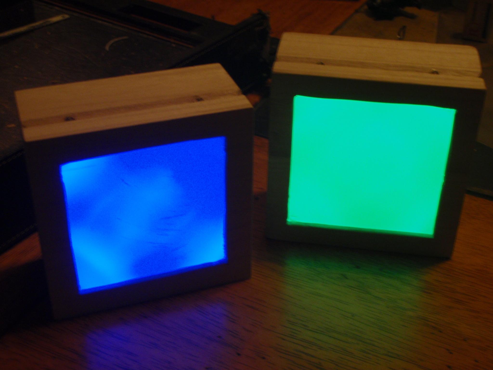 LED tilt light box