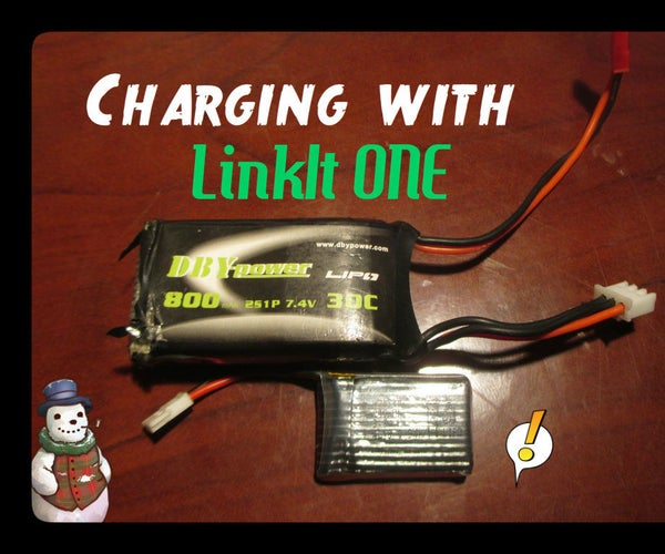 LinkIt ONE - LIPO Charging Reminder