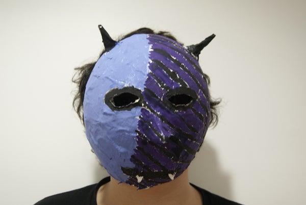 Papier Mache Monster Mask