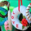 """LOVE"" Wreath <3"