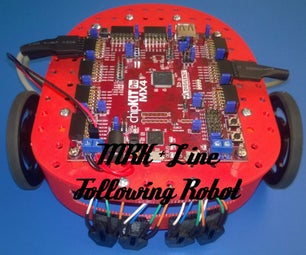 Line Following MRK Robot With 3d Printed Parts