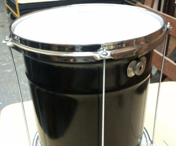 Build Your Own Brazilian Repinique Drum