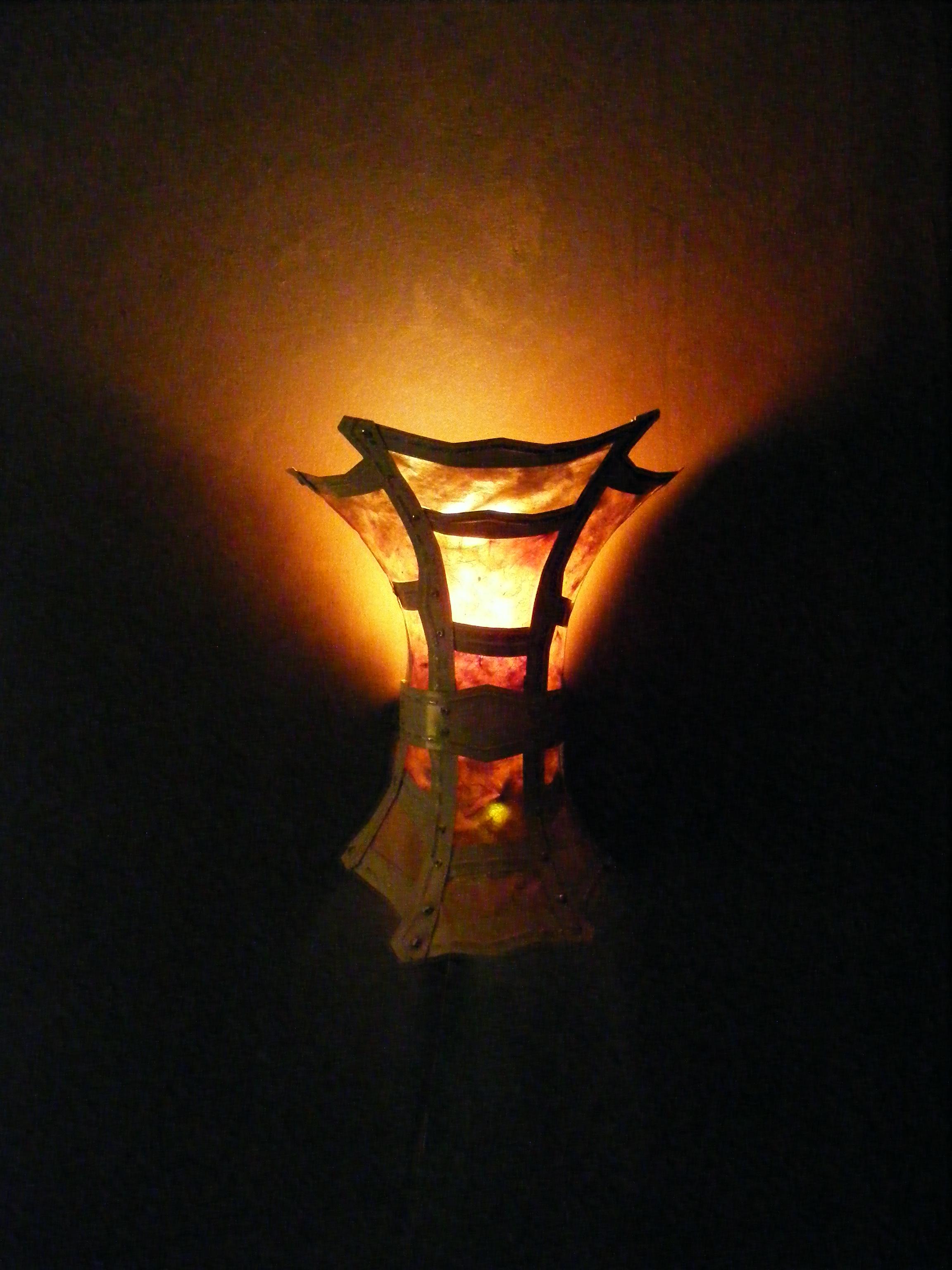 Illuminated Wall Sconce