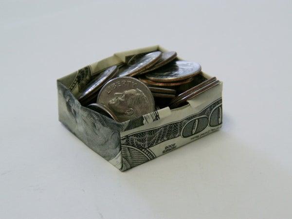$100 Origami Box