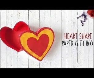 Paper Heart Gift Box