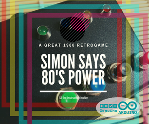 Simon Says 80s Power