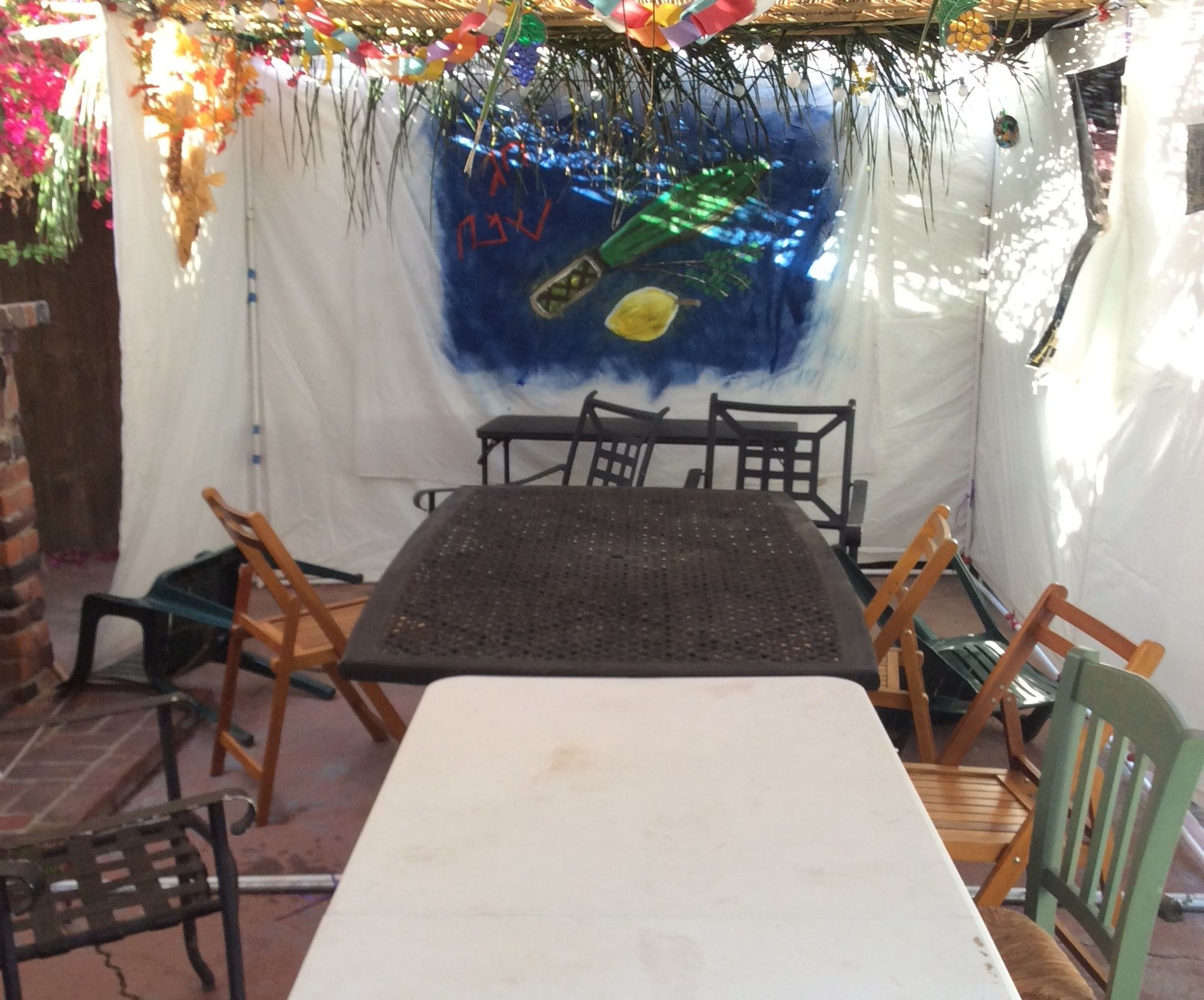 Build a Shelter (sukkah, booth, hut)