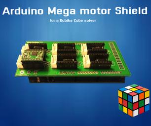 Arduino Mega Stepper Shield for a Rubiks Cube Solver