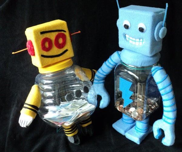 Robot Piggy Banks
