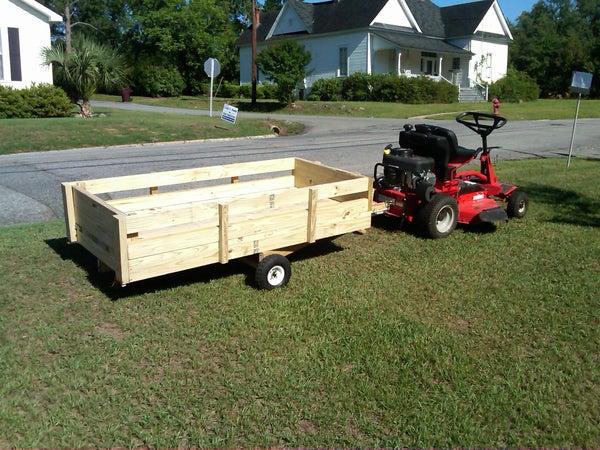 Lawnmower Utility Trailer