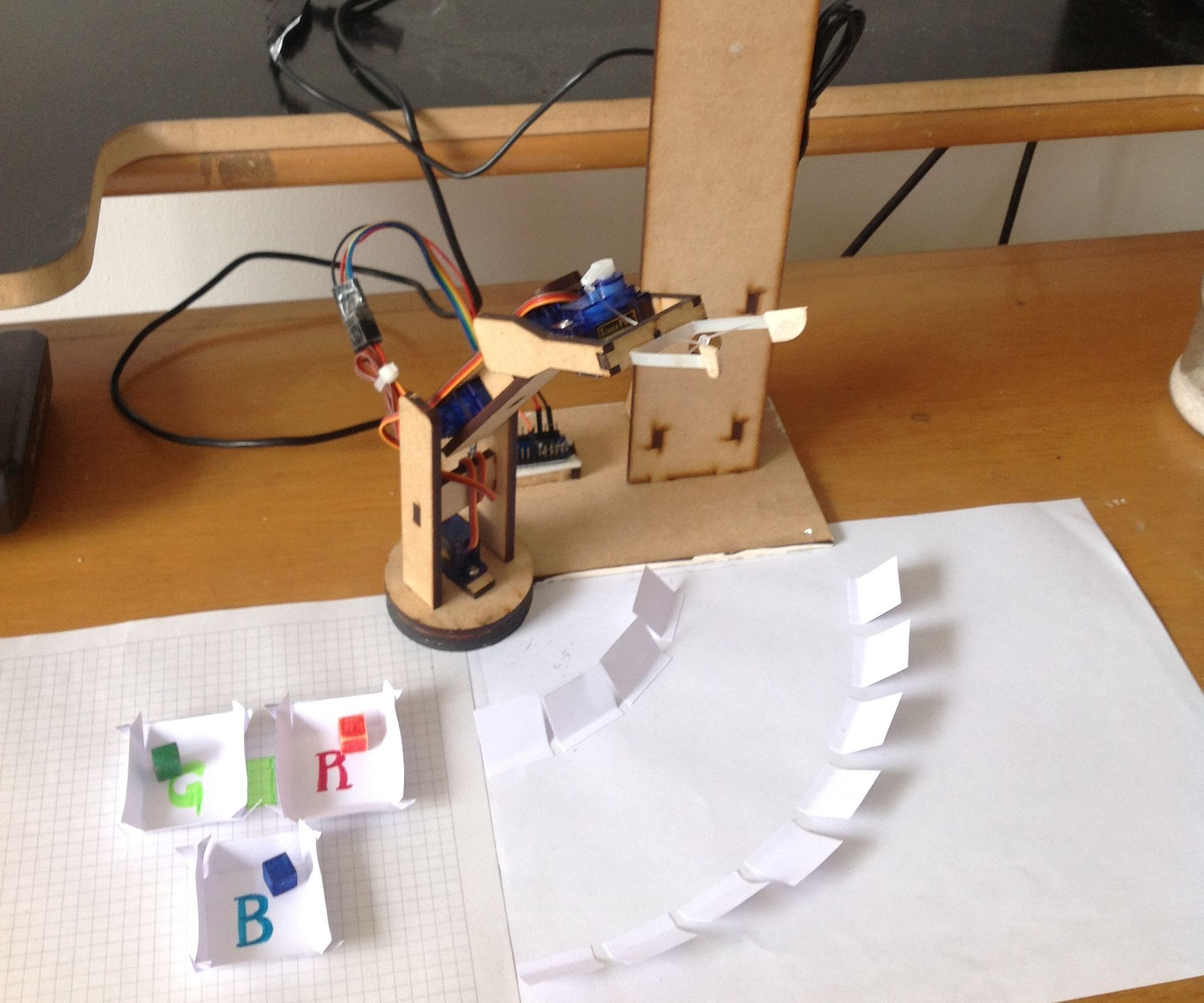 Computer Vision Robot Arm