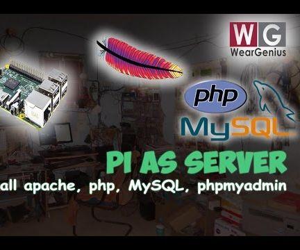 Setting up Apache WebServer on Raspberry Pi