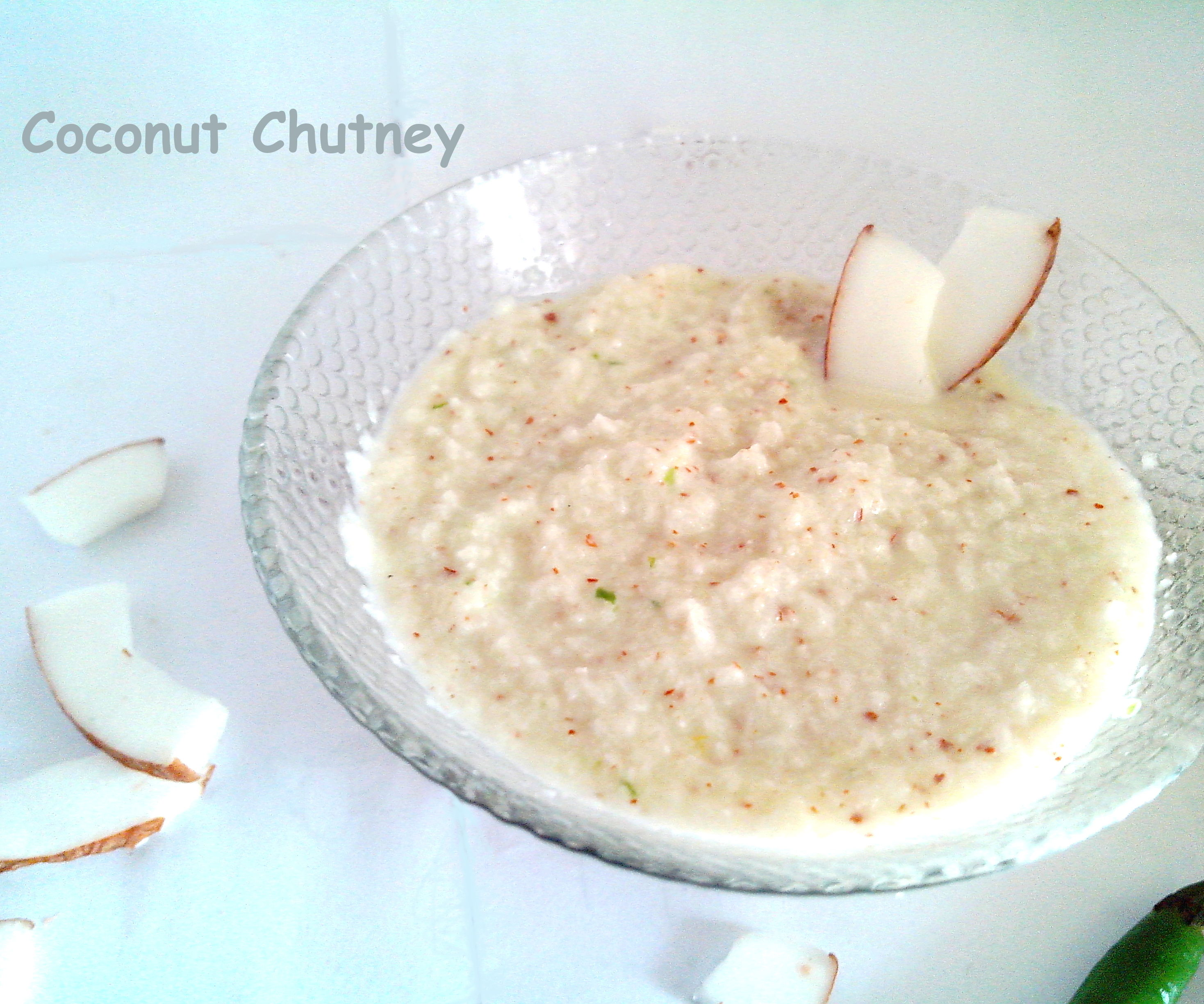 Simple Coconut Chutney