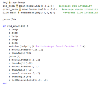 Create Code to Read Counter Screen, Interpret It and Retreat From the Source