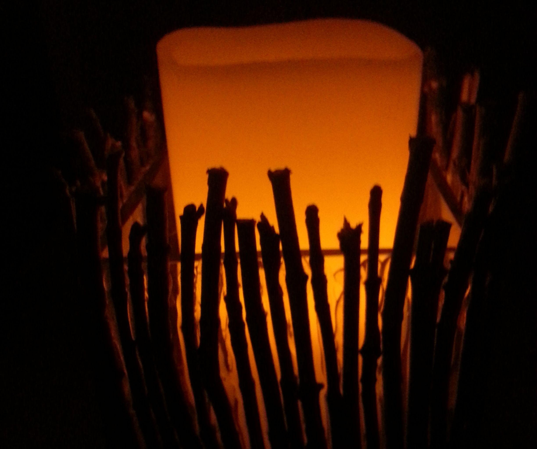 stick candle holder