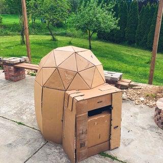 Cardboard Play Dome