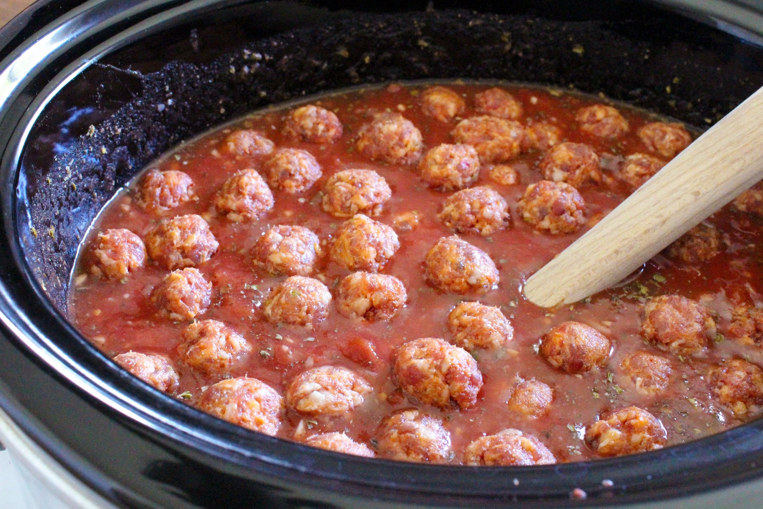 Make the Meatballs and Add to Sauce