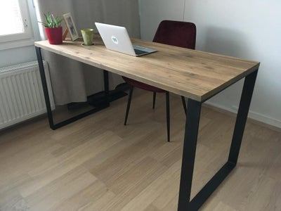 Modern Classic Desk With Metal Legs for Home Office