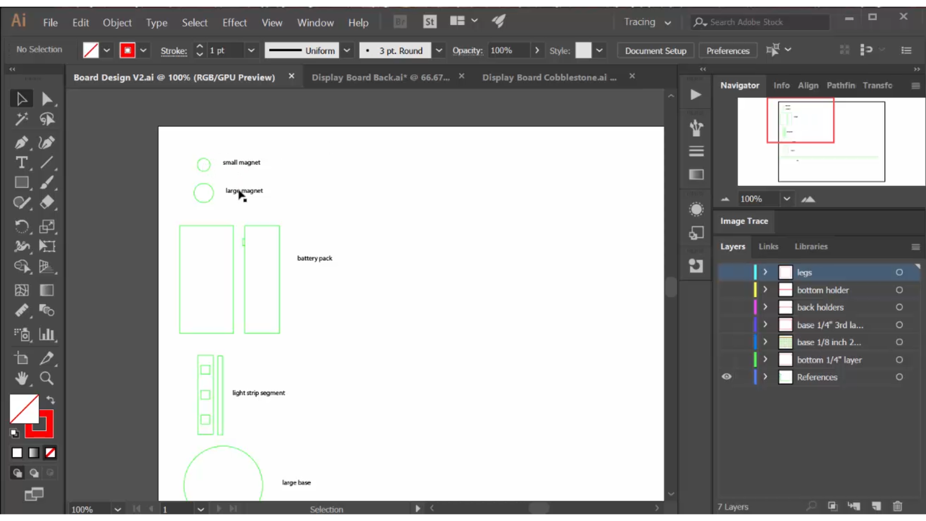 Design the Display Board Components