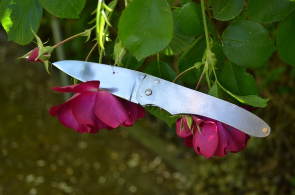 How to Make a Liner Lock Folding Knife