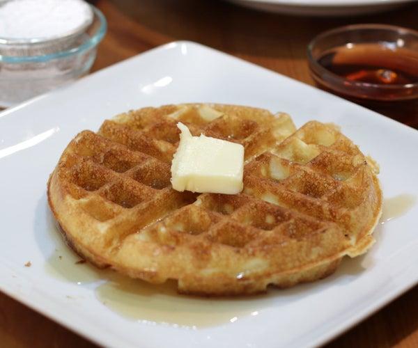 Jackie Kennedy's Amazing Waffles