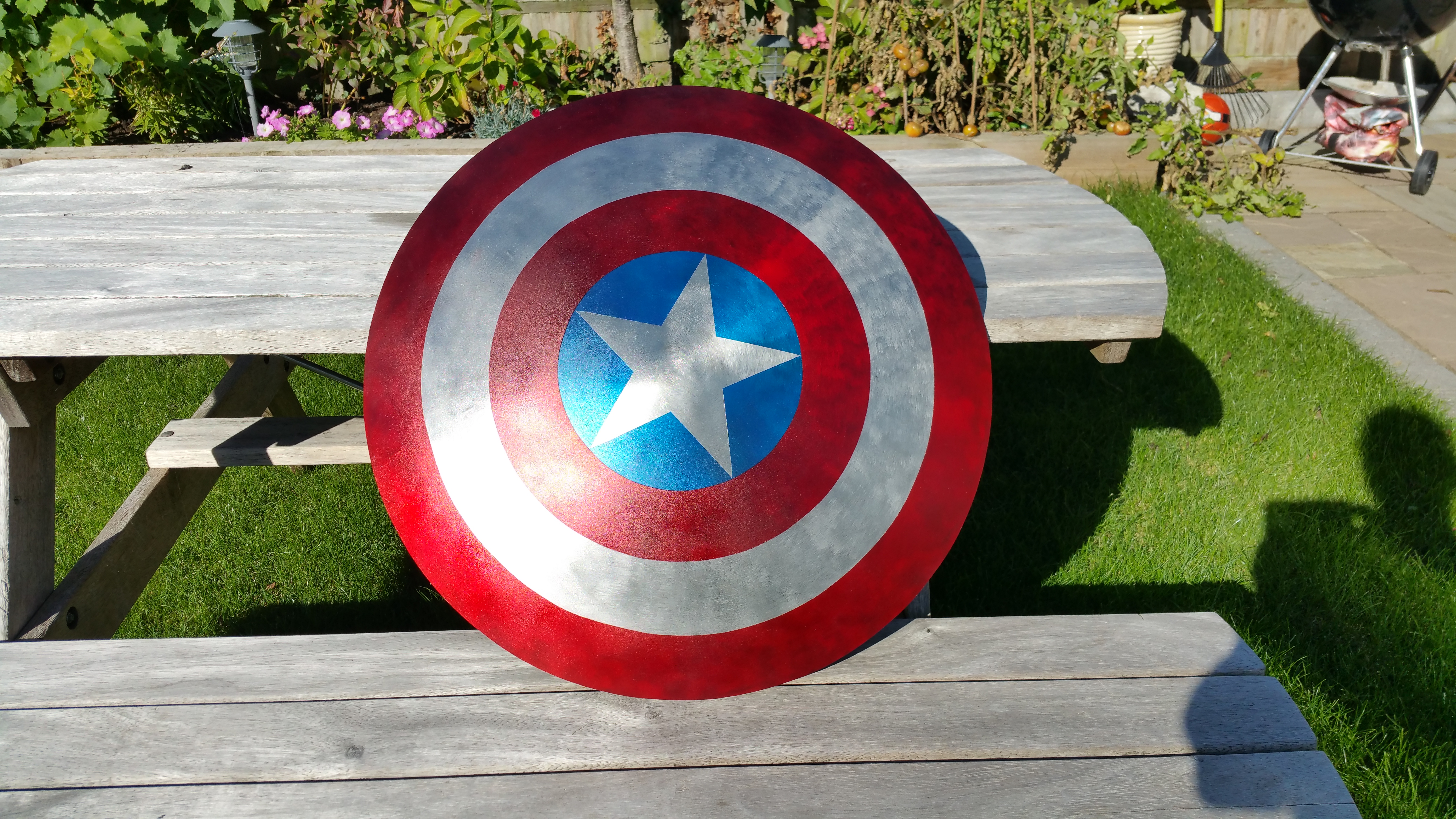 Captain America Shield 4 Steps With Pictures Instructables