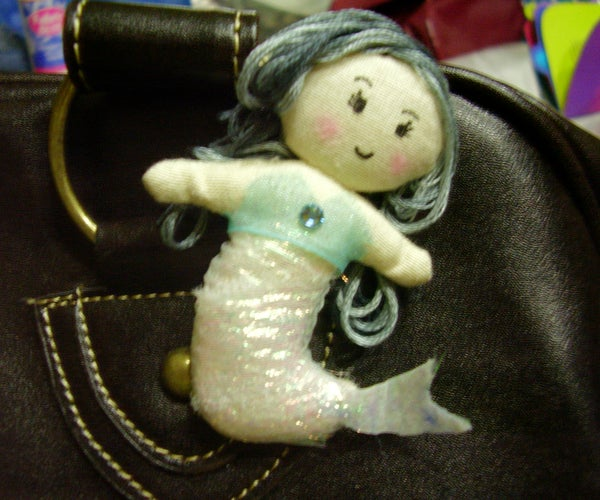 Kintri's Mermaid Brooch