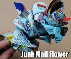 Junk Mail Flower